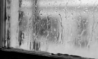 beautiful piano and rain