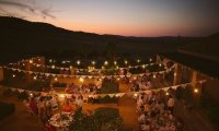 A night outdoor Mexican Folk Party
