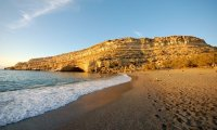 A fine summer day on the island of Crete.