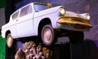 Take a ride in Ron's Flying Car