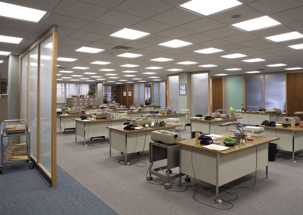 Светильники в офис
