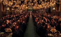 http://www.ambient-mixer.comDine with style at the Great Hall of Hogwarts...
