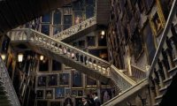 http://www.ambient-mixer.comMain Hall of Moving Staircases, Hogwarts Castle