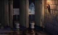 Hogwarts bathroom -no Moaning Myrtle