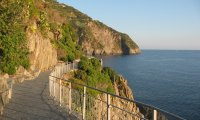 http://www.ambient-mixer.comBoardwalk on Italian cliff