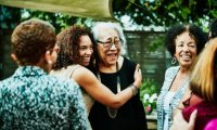 5 senses Backyard Family Get Together