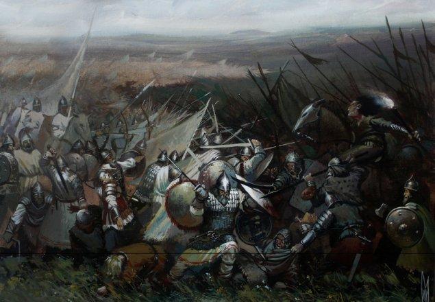 medieval battle audio atmosphere