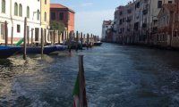 Listening to the sounds of Venice waking up