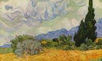 Van Gogh is painting
