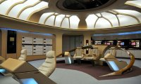 The bridge of the USS Enterprise NCC 1701-D