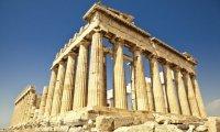 Spending time at Pantheon in Athens