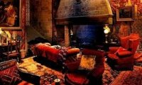 Study in the Gryffindor common room!