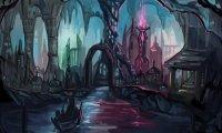 D&D Underdark City Drow