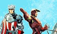 Steve and Tony knight au