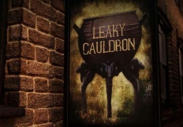 the leaky cauldron audio atmosphere