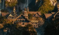 Sitting by myself on a quiet evening in Rivendell