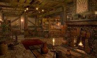 Warm village tavern