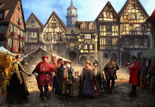 Medieval Town Market Audio Atmosphere