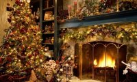 http://www.ambient-mixer.comVictorian Parlor at Christmas