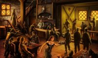 A standard merry medieval tavern