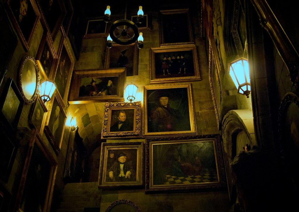 Night Hogwarts Castle Audio Atmosphere