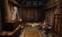 Late Skyrim Inn, Time to Sleep