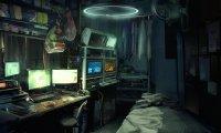 A Quiet Night in a Cyberpunk Apartment