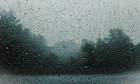 heavy rain and rolling thunder