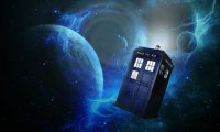 Tardis console, sonic screwdriver, puttering about and fixing things