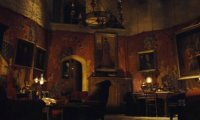 Stormy Night in Gryffindor Tower