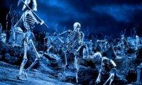 Battle in a Graveyard