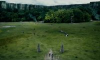 The Glade from the Maze Runner book