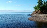 Calm minnesota shore
