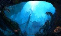 Eerie underwater