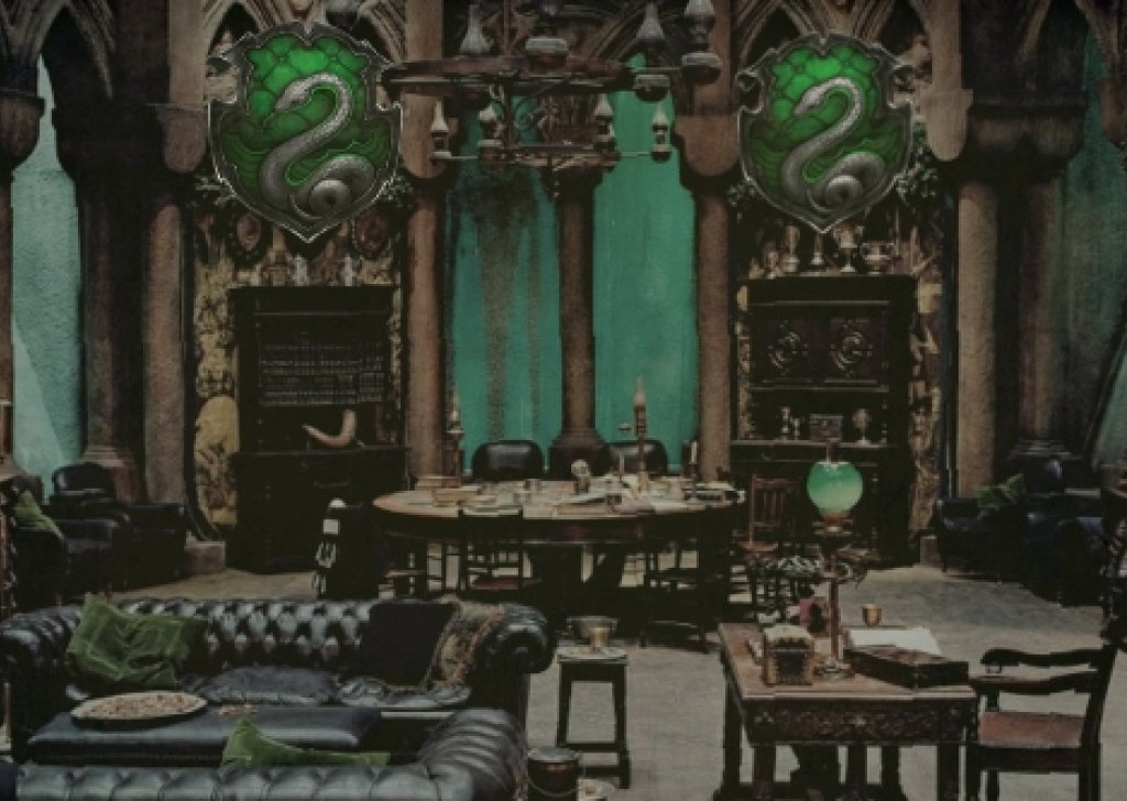 mon Room For Slytherins on green interior design