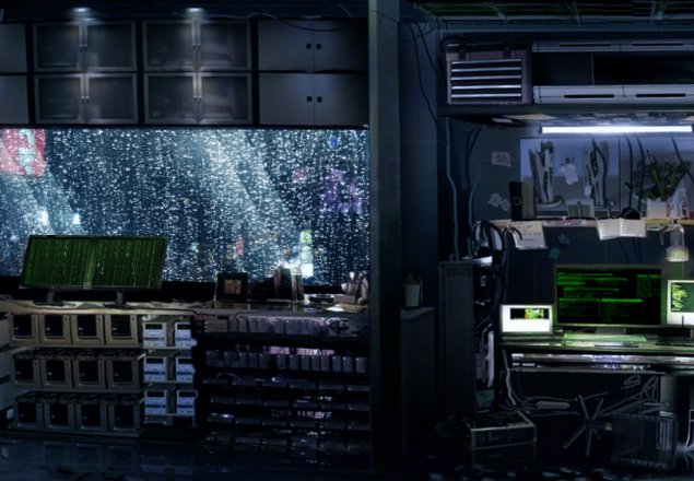 Hacker S Room In A Night Of Rain Audio Atmosphere