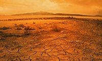 A wasteland desert