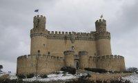 A medieval city enjoying a seasonal festival.