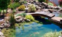 Living a perfect moment in an oriental secret garden
