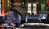 Inside a Cozy Winter Cottage