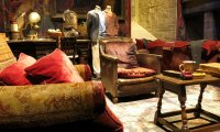 Gryffindor Common room on a winter night