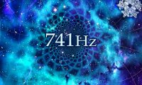 741 Hz – Expression/Solutions. Winter by fireplace.