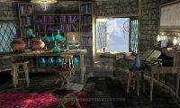 D&D Shandor's studying place-Spiritist shuffling books