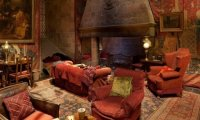 Gryffindor Common Room by the Fireplace
