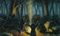 Pagan Germanic Forest Ritual