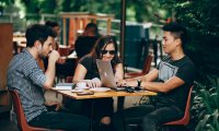 Outdoor Coffee Shop