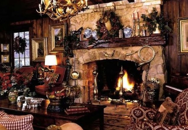 A Warm Cozy Winter Cottage Audio Atmosphere