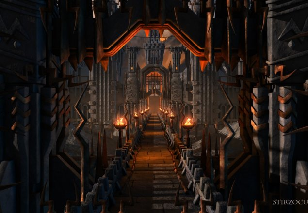 in the fortress of angband audio atmosphere