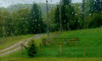 Stormy day on the farm