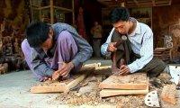 Mandalay's Wood Carver's Workshop